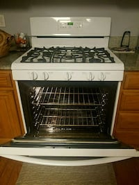 white and black gas range oven Woodbridge, 22192