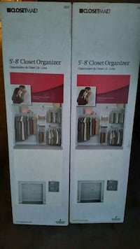 Closet organizer brand new still in the box