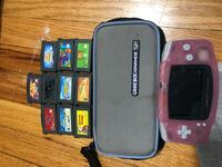 Pink Gameboy Advanced GBA case and games Des Plaines, 60016