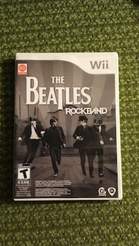 The Beatles Rockband Nintendo Wii game case New Westminster, V3M 5X4