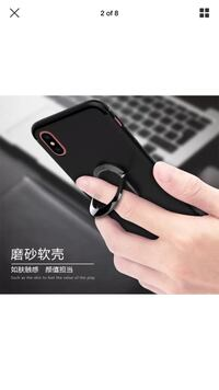 iPhone X case with ring and magnet Markham, L6B