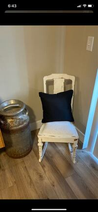 Little rustic rocking chair