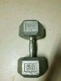 black and gray fixed weight dumbbell Cape Coral, 33991