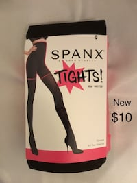 New SPANX Tights,Size D, High Waisted, Opaque, All