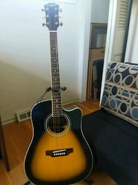BLACK & TAN Acoustic/ELECTRIC guitar