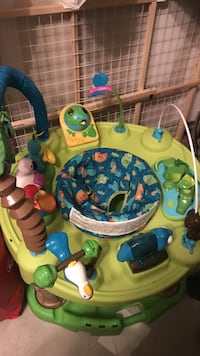 Green and blue baby activity center 41 mi