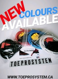 """""""NEW"""" Toe Pro System (Goalie Gear)  Pointe-Claire, H9R 4M5"""