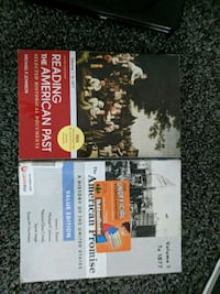 2 american history books Johnson City, 37604