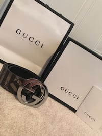 Gucci Caleido Belt Size 34-38 (100cm) 100% AUTHENTIC Ottawa, K1W 1J5