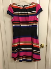 Elle striped dress from Kohl's size medium worn once