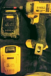 yellow and black DeWalt cordless power drill Surrey, V3S 1T2