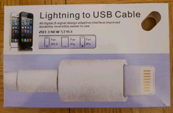 Apple - Lightning to USB Cable - White