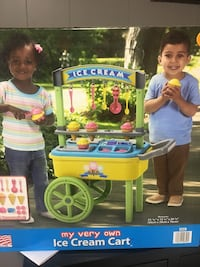 Ice cream cart toy brand New  Hyattsville, 20782