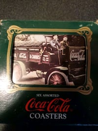 Coca cola Coasters Milwaukee, 53228