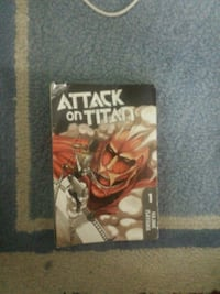 Attack on titan comic book Toronto, M3A 3S1