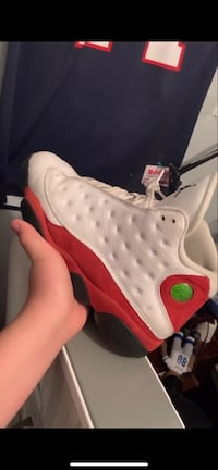 "jordan 13 ""cherry""/ size 13/ text me for more pictures  Fairfax, 22032"