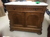 Antique marble top bar/commode  New Orleans, 70118