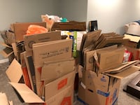 Over 60 Home Depot and Lowe's moving boxes. Excellent condition  Edmonton, T5X 0L3