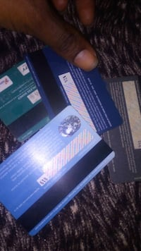 BLANK ATM CARDS