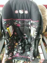 black and pink floral car seat carrier end base Alexandria, 22306