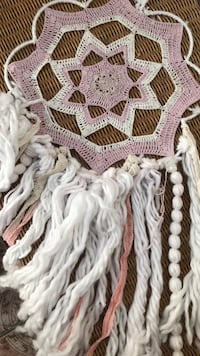 creme and pink dream catcher  Los Angeles, 90063
