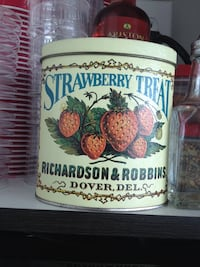 Bristolware tin box company container