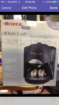 Black Ariete by DeLonghi Elisir Cafe Mississauga, L4Y 3X6