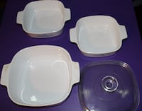 3 VINTAGE CORNING WARE    ASKING $25.00 Hagerstown