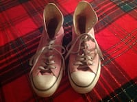 Pink converse all-star Chuck Taylor sneakers Calgary, T2C 0P5