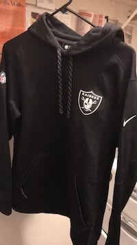 black and white Oakland Raiders jacket San Leandro, 94577