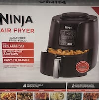 Reg $159--->$100 Ninja Air Fryer NEW Pitt Meadows, V3Y 2J5