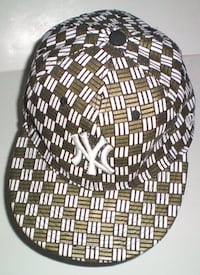 New York Yankees New Era 59Fifty Checkered Flat Brim Cap London