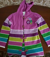 Beautiful Girls Long Cardigan size7-8 Ashburn