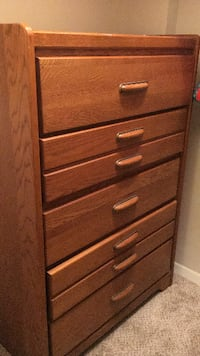 5-Drawer Wooden Chest - $75 (Laurel, MD) HYATTSVILLE