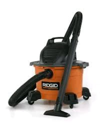 red and black Ridgid wet and dry vacuum cleaner Tulsa, 74128