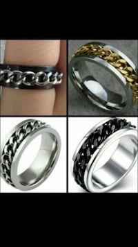 Mens Stunning High Quality Titanium Spinner Chain Link Comfort Fit Polished To Perfection Classy Mens Wedding Band, Mens Ring Band  Phoenix, 85016