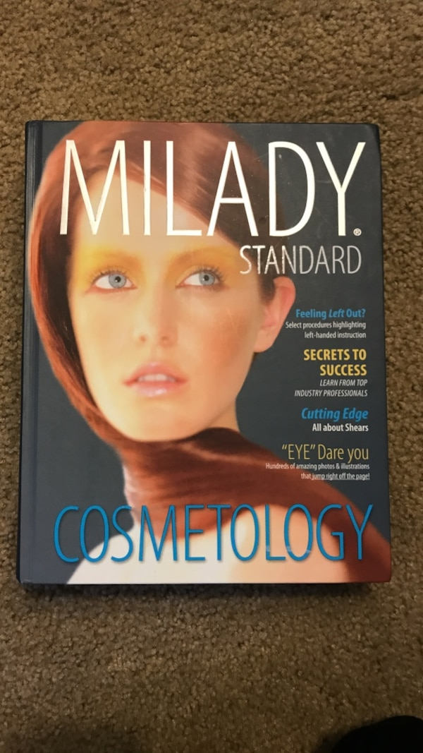 47488191fe18 Used Milady Standard Cosmetology book for sale in Folsom - letgo
