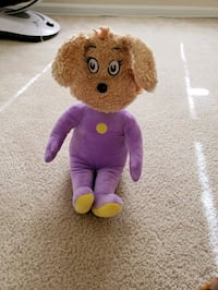 pink and purple bear plush toy Germantown, 20874