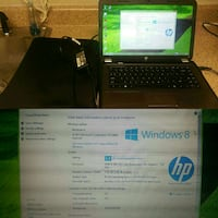 black and brown HP laptop Shelbyville, 37160