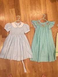 two blue and white dresses Arlington, 22206