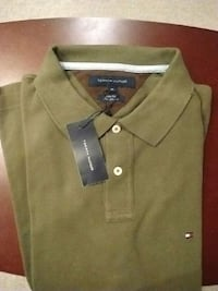 green Tommy Hilfiger polo shirt Ontario, L4J 5W7