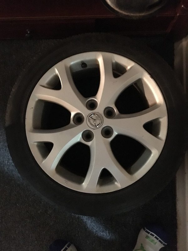 Mazda 3 Rims >> Used 17 205 50 5x114 3 Mazda 3 Rims For Sale In Hamilton Letgo