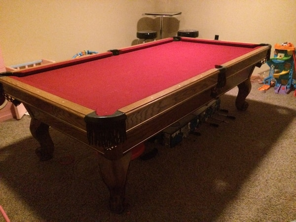 Used Pool Table Playmaster Renaissance Foot Slate Pool Table Oak - How to move a slate pool table