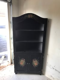Black China Cabinet Weston
