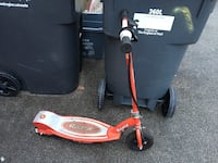 red and gray Razor motorized kick scooter Mississauga, L5M 6E6