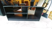 black wooden 3-layer TV stand Whitehouse, 75791