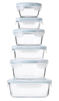 BRAND NEW, UNUSED_OXO Food Storage Container Smart Seal Glass 14pc