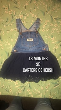 Overall dress carters Oshkosh 18months  Victoria, V8V 3N9