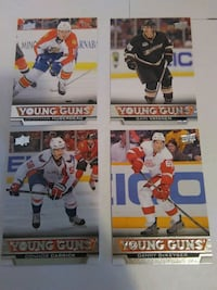 2013/14 UPPER DECK YOUNG GUNS -HUBERDEAU,VATANEN + Pickering, L1V 3V7