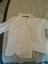 white button-up long-sleeved shirt Raleigh, 27613